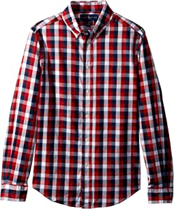 Cotton Madras Shirt (Big Kids)