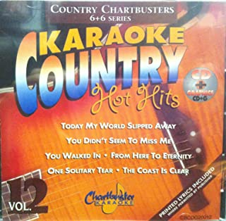 Chartbuster Karaoke Country Hot Hits Vol 12