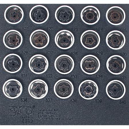 Bgs 8963 Werkstattwageneinlage 1 6 Felgenschloss Werkzeug Satz Für Vag 20 Tlg Auto