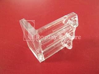 Clear Plastic False Front Clips #1931CL (4 Clips)
