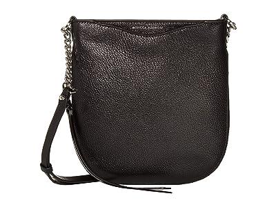 Rebecca Minkoff Emma Swing Crossbody (Black) Handbags