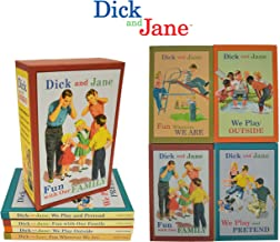 Dick and Jane 4 book boxed set (Learn to read with Dick and Jane)