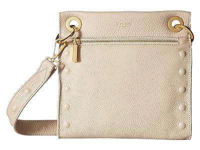 Hammitt Tony Medium (Sandstone Pebbled/Brushed Gold/Gold) Handbags