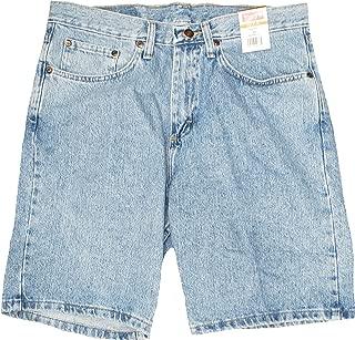 Wrangler Light Stone Relaxed Fit at Knee 5 Pocket Denim Shorts