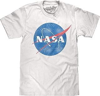 Distressed NASA Shirt - Vintage NASA Meatball Logo T-Shirt