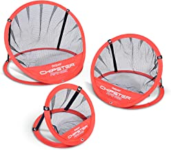 GoSports CHIPSTER Range – 3 Piece Golf Chipping Practice Net Target System with..