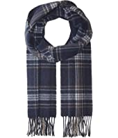 Eton - Plaid Wool Scarf