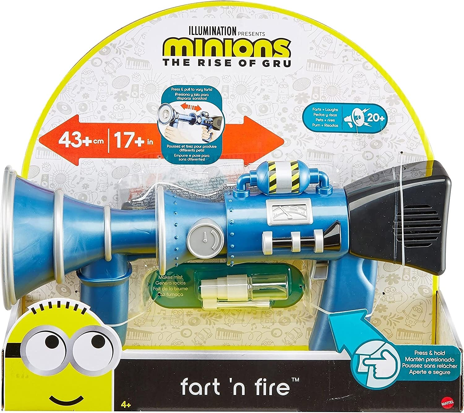 Minions Fart and Fire - Toy in the package