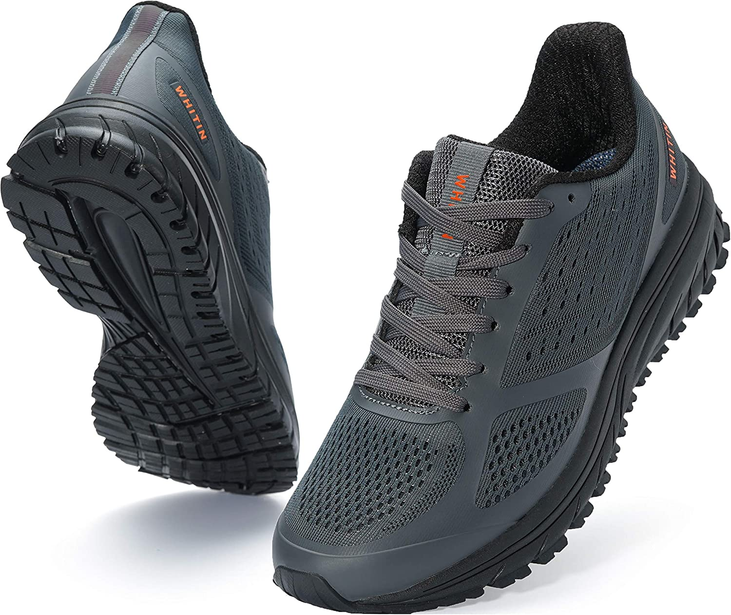 Reservation Max 47% OFF Joomra Men's Supportive Running Shoes Cushioned Athl Lightweight