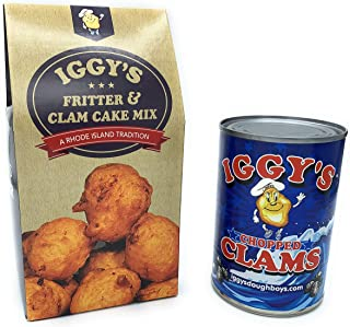 Iggy's Fritter & Clam Cake Mix with Iggy's Clams Gift Pack