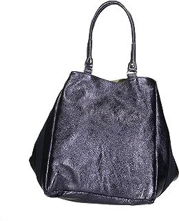 Aren - Shoulder Bag Borsa a Spalla da Donna in Vera Pelle Made in Italy - 28x35x25 Cm
