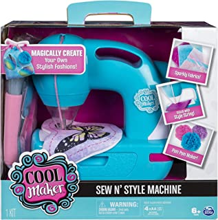 Cool Maker - Sew N' Style Sewing Machine with Pom-Pom Maker Attachment (Edition May Vary) (Renewed)