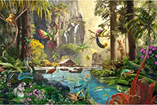 LAVIEVERT 1000 Piece Jigsaw Puzzle Game for Adults and Kids - Tropical Forest