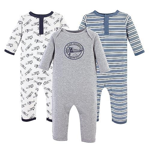 a95c743d86fc Hudson Baby Unisex Baby Cotton Coveralls
