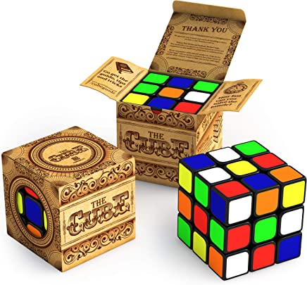 aGreatLife® El Cubo: Gira más Rápido y es Más Preciso Que el Original; Súper Durable con Colores Brillantes; El Más Vendido 3x3 Speed Cube; 100% Garantía de Devolución de Dinero!