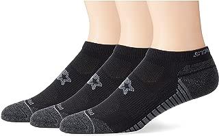 Starter Men's 3-Pack Athletic Microfiber Low-Cut Ankle Socks, Amazon Exclusive