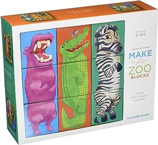 Crocodile Creek — Make a Zoo Blocks — Block Stacking Set