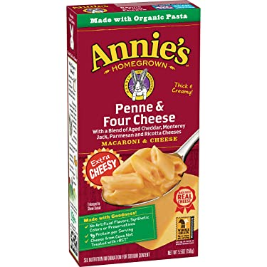 Annie's Macaroni and Cheese, Four Cheese Mac and Cheese, 5.5 Ounce