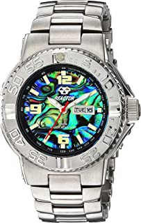 REACTOR Women's Critical Mass mid Japanese-Quartz Sport Watch with Stainless-Steel Strap, Silver, 9 (Model: 77009)