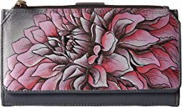 Anuschka Handbags - 1114 Organizer Wallet/Clutch