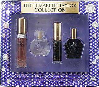 Elizabeth Taylor White Diamonds 15ml + Forever Elizabeth 10ml + White Diamonds Night 10ml + Passion 15ML, 50 ml