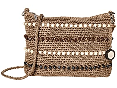 The Sak Casual Classics 3-in-1 Demi (Taupe Multi Wood Beads) Handbags