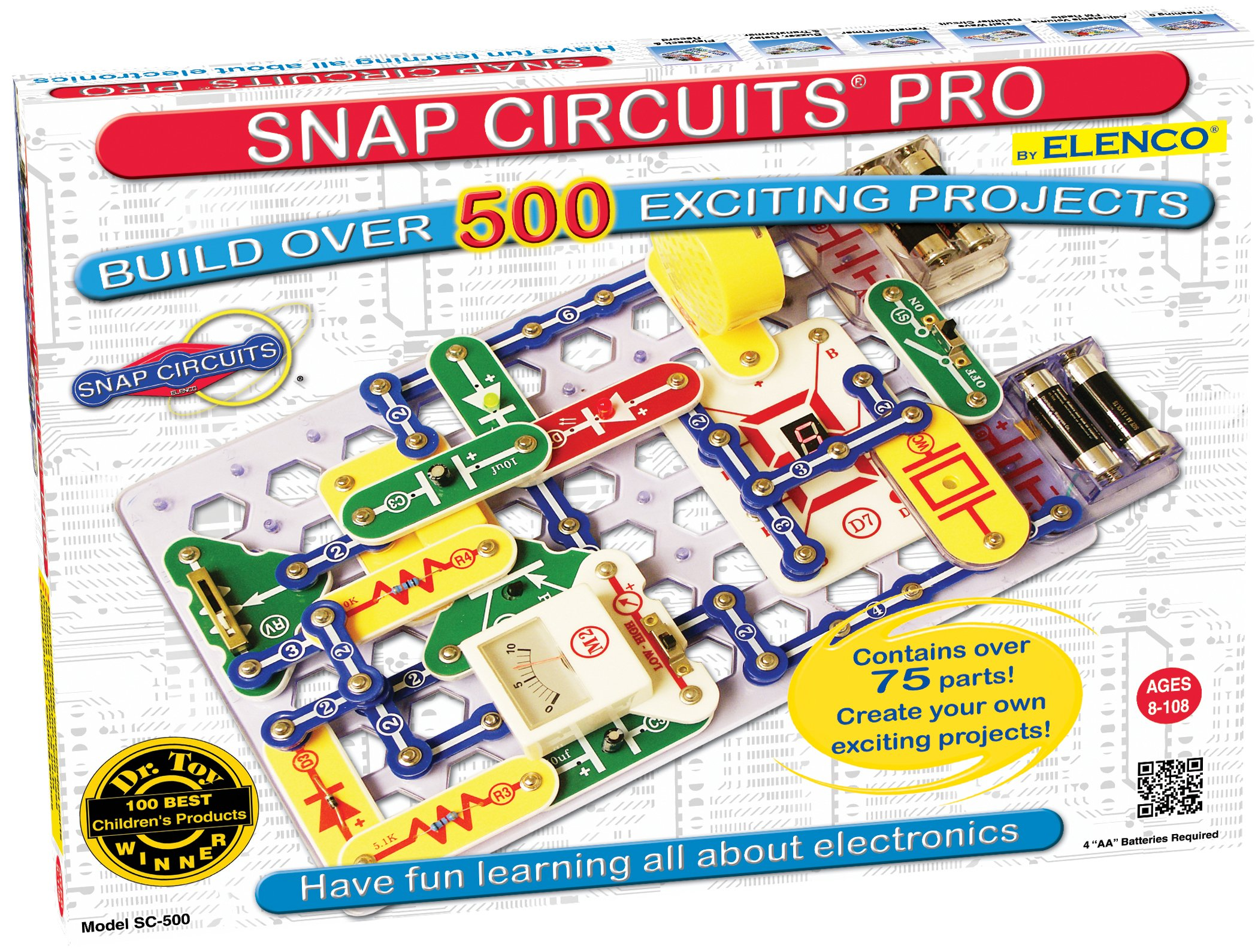 electric circuits for kids amazon co uksnap circuits pro sc 500