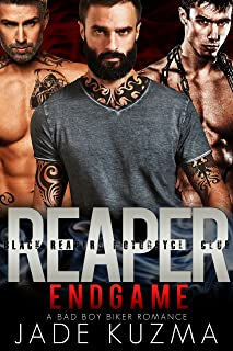 Reaper/Endgame: A Bad Boy Biker Romance (Black Reapers Motorcycle Club Book 6)