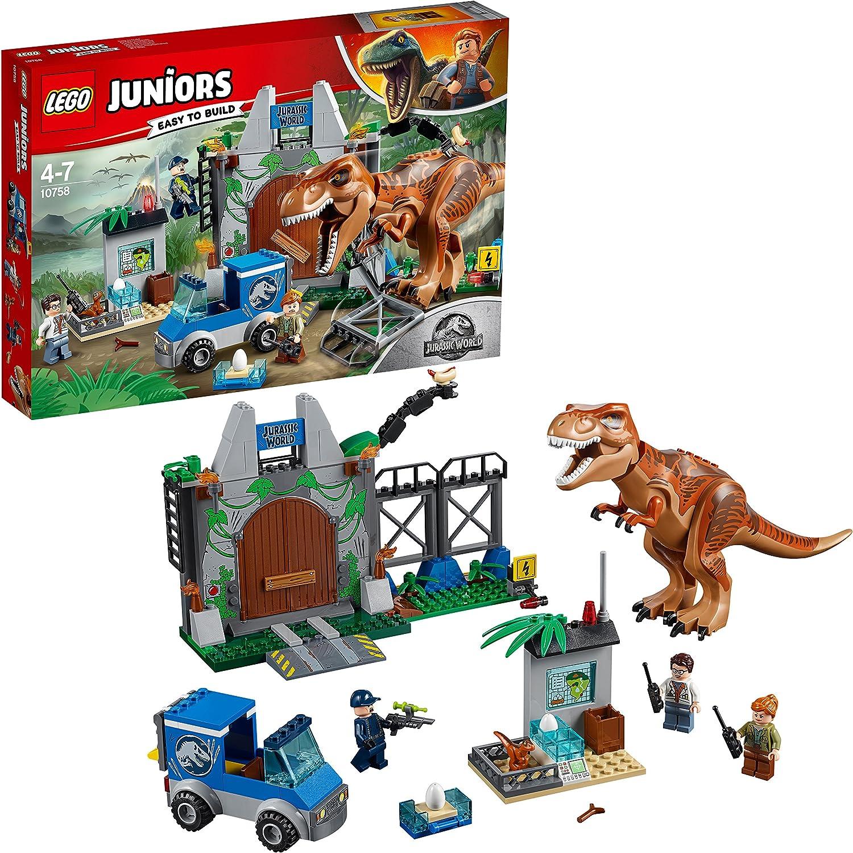 LEGO UK 10758 Jurassic World World World TRex Breakout Set dd5f98