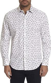 Robert Graham Men's Long Sleeve White Hot Paisley Sport Shirt