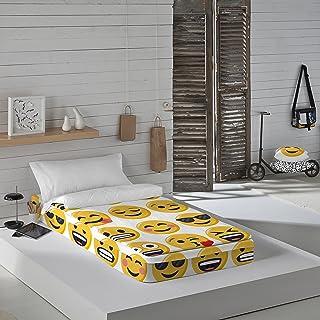 Emoji ILY Saco nórdico, Amarillo, Blanco, Sin Relleno