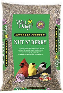 Wild Delight 366200 20-Pound Nut N-Berry Birdfood, 20 lb