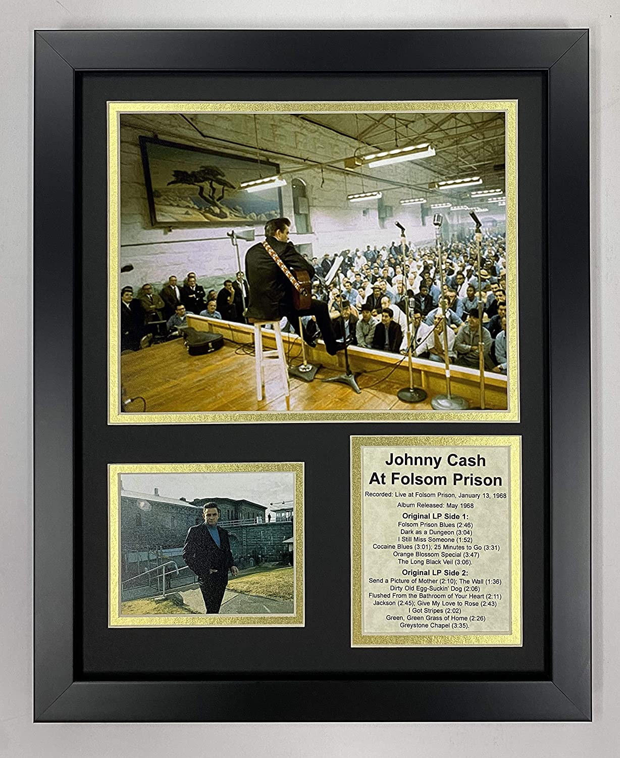 Legends Never Die Johnny Long Beach Mall Cash Prison Folsom Ranking TOP2 Fra Collectible at