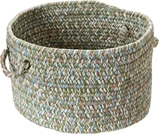 Colonial Mills Corsica Utility Basket, 14 by 10-Inch, Seagrass