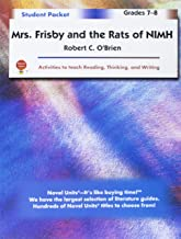Mrs. Frisby and the Rats of NIMH - Student Packet by Novel Units