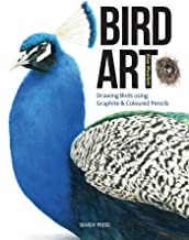 Bird Art: Drawing Birds using Graphite & Coloured Pencils