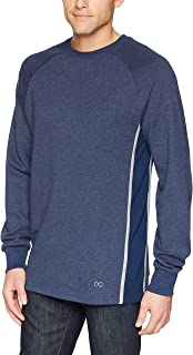 2(X)IST Men's Colorblock Crewneck Pullover with Mesh