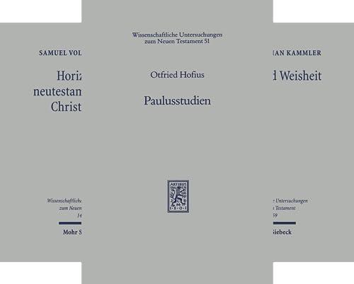 Wissenschaftliche Untersuchungen zum Neuen Testament (101-150) (Reihe in 50 Bänden)