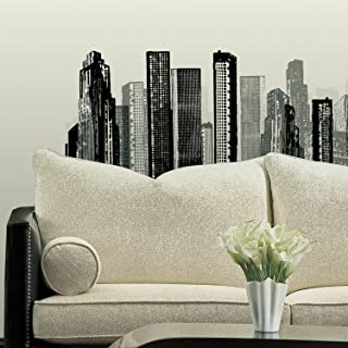 RoomMates Cityscape Peel and Stick Giant Wall Decal