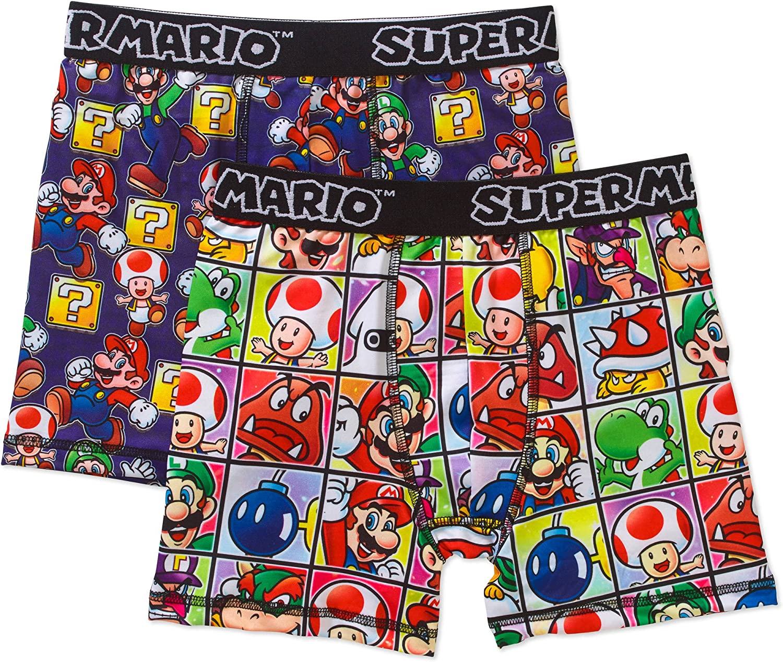 Super Mario Bros 2 Pack Boxer Briefs