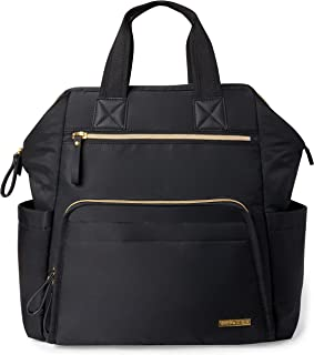 Skip Hop Main Frame Wide Open Backpack, Black