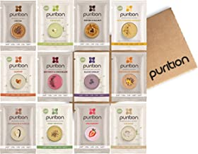 Purition Mixed Trial Box | Premium Vegan & Vegetarian sachets, High Protein Powder for Keto Shakes and Smoothies with Only...