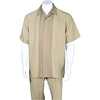 FORTINO LANDI Check Pattern Casual Walking Suits in 4 Colors M2960