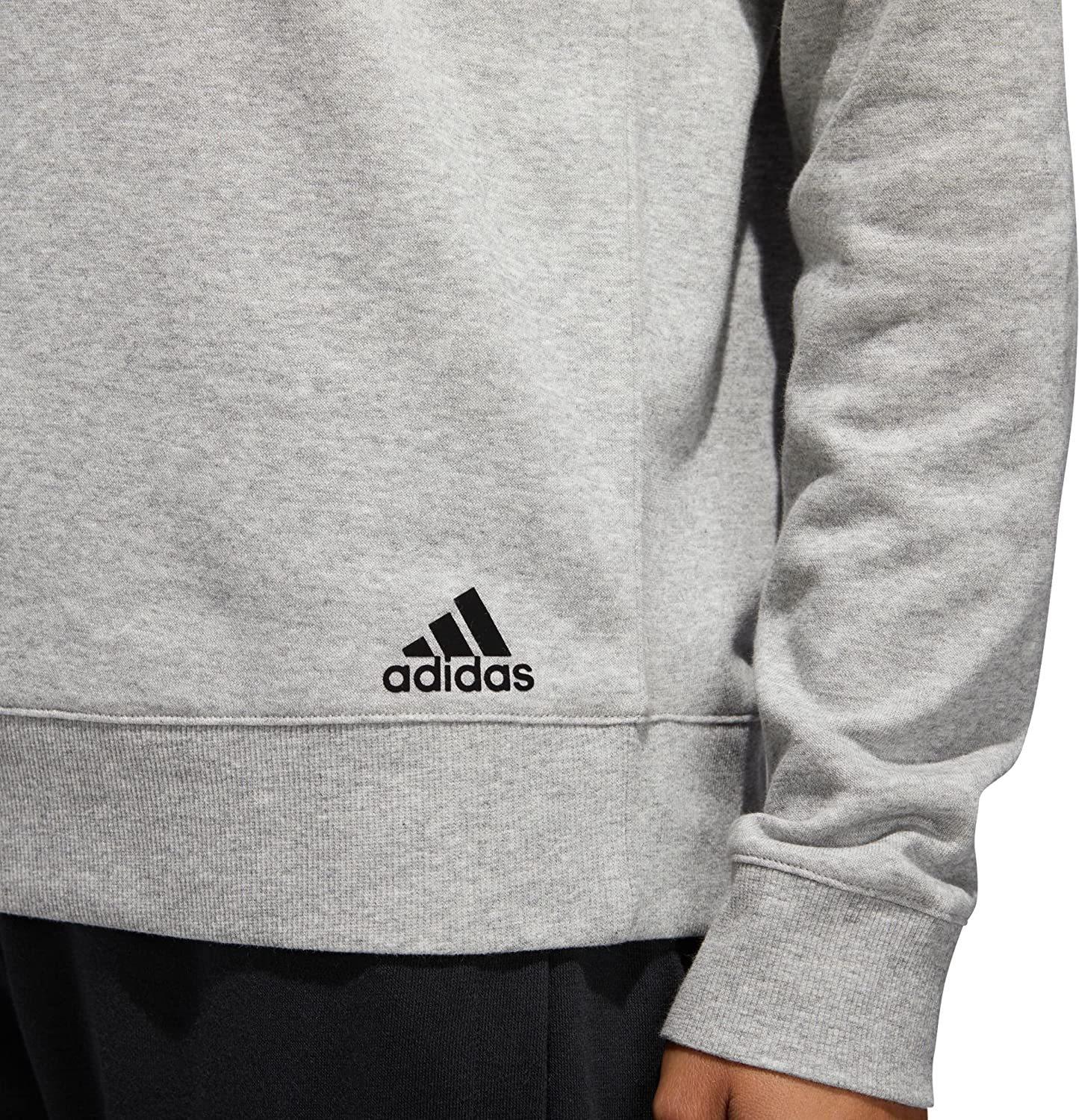 adidas pour Femme French Terry Conversion Rapide Crew Sweat (Noir, XS) Mgh