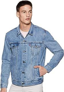 Levi's Men's The Trucker Two Horse Mens Jacket Cotton Blue