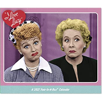 Amazon.com: Day Dream Calendars 2021 I Love Lucy Calendario de