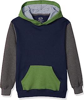 Fruit Of The Loom Boy's Fleece Hoodie Sweatshirt Shirt