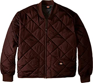 Dickies Men's Big Diamond Quilted Nylon Jacket