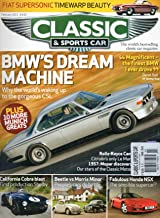 Classic & Sports Car UK February 2011 Magazine BMW'S DREAM MACHINE: WHY THE WORLD'S WAKING UP TO THE GORGEOUS CSL Fiat Supersonic Timewarp Beauty