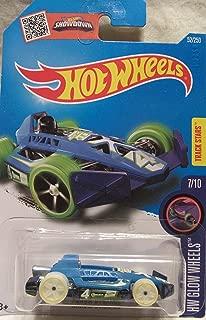 Hot Wheels 2016 Glow Wheels Arrow Dynamic Steel Blue 52/250